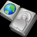 web,harddisk icon