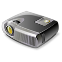digital, projector icon