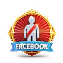 badge, casino, facebook, medal, person, prize icon