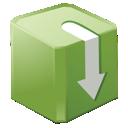 download, box icon
