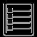 list,listing icon