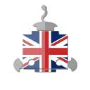 robot, flag, uk, bot, telegram, united kingdom icon