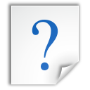 question, document, text, katefilelist, file, help icon