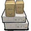 file, server, cabinet icon