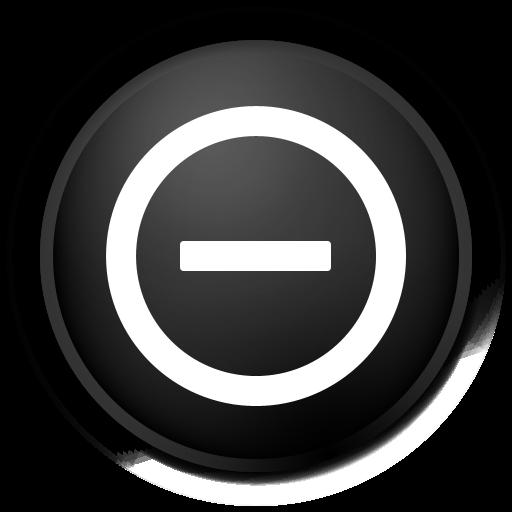 stop, black, no, cancel icon
