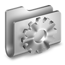 Developer, Folder, Metalic icon