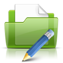 Folder, Write icon