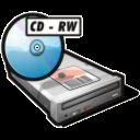 Cdrw, Drive icon
