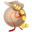 buck, bagful, business, dollar, dollars, fish, bag, sac, coin, bank, cash, money, sack, currency, finance icon