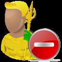 hero, cartoon, delete, aquaman, del, remove icon