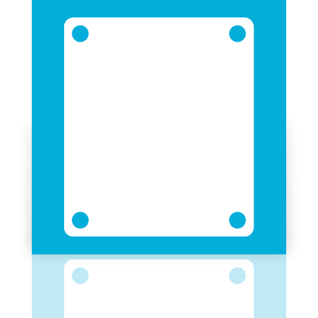 drive, blank, mirror icon