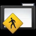 dark,folder,public icon