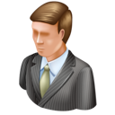 business mac, user, man, administrator icon