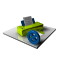 Printer Delete icon