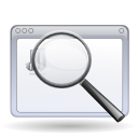 Find, Glass, Magnifying, Search, Window, Zoom icon