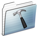 developer,folder,graphite icon