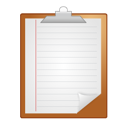 Clipboard, Note, Notes, Paper icon