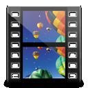 videos, library icon