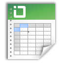 excel, document, file icon