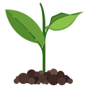 advantage, friendly, green, nature, plant, eco, ecology icon