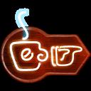 retro, sign icon
