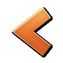 left, arrow icon