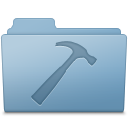 Blue, Developer, Folder icon