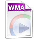 wma, audio icon