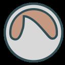 round, coffe, figure, circle, shape icon