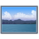 landscape, image, photo, picture, gallery icon