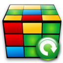 cube, refresh, reload icon