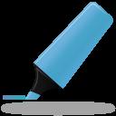 Highlightmarker blue icon