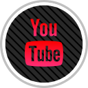 online, youtube, media, social icon