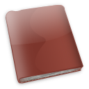 Book, Red icon