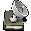 satelite,book icon