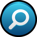search, explore, find, look, zoom, lens icon