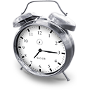 bell, clock, time, alarm, hours icon
