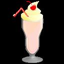 Milkshake, Strawberry icon
