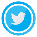 social, twitter, media, follow, tweet icon