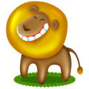 lion,animal,cartoon icon