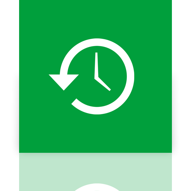 mirror, system, restore icon
