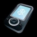 microsoft,zune,black icon