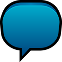 blank, chat, balloon, message, talk icon
