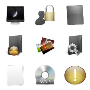 Radium Neue icon sets preview