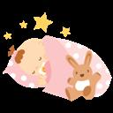 Baby, Girl, Sleeping icon