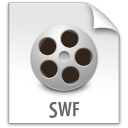 swf, document, paper, file icon