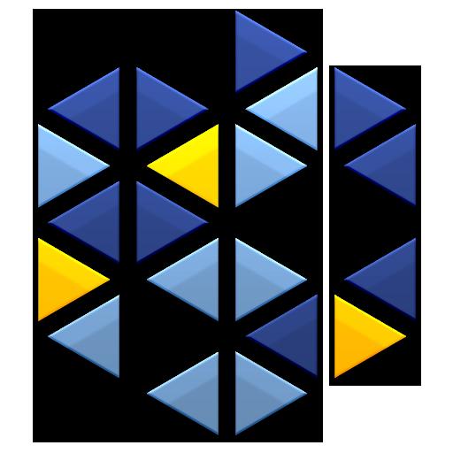 logo, kaleidescape, ps icon