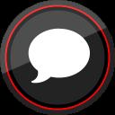 media, social, imessage, logo icon