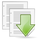 document, save, as icon