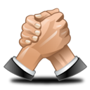 wrestle, deal, hand, hands, competitors icon